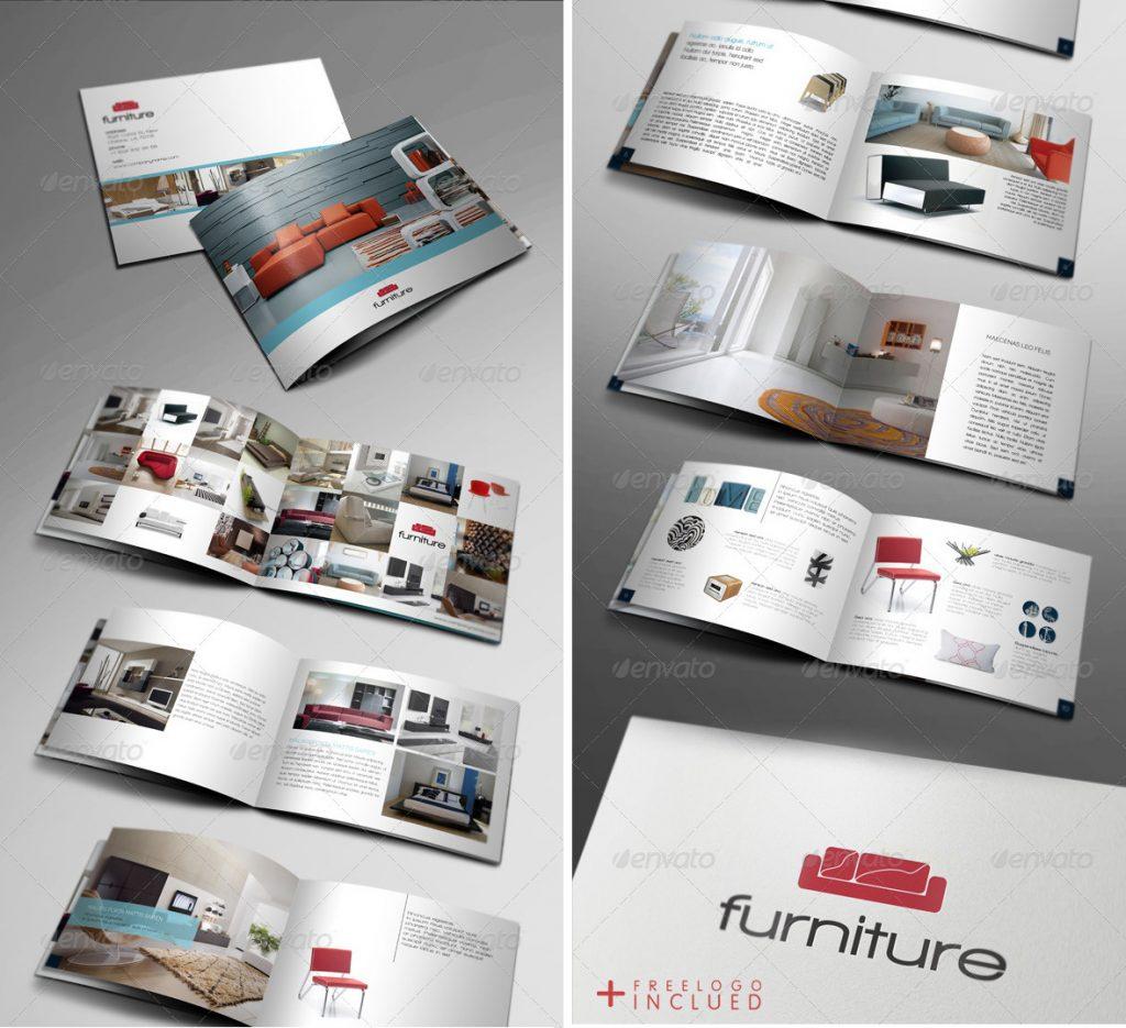 Thiết kế và in catalogue nội thất đồ gỗ